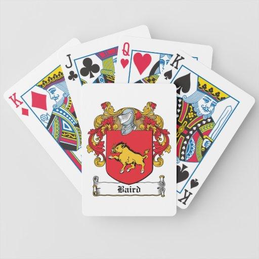 Escudo de la familia de Baird Barajas