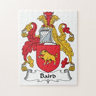 Escudo de la familia de Baird Rompecabeza Con Fotos