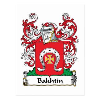 Escudo de la familia de Bakhtin Tarjetas Postales