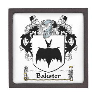 Escudo de la familia de Bakster Cajas De Joyas De Calidad