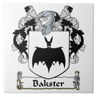 Escudo de la familia de Bakster Tejas Cerámicas
