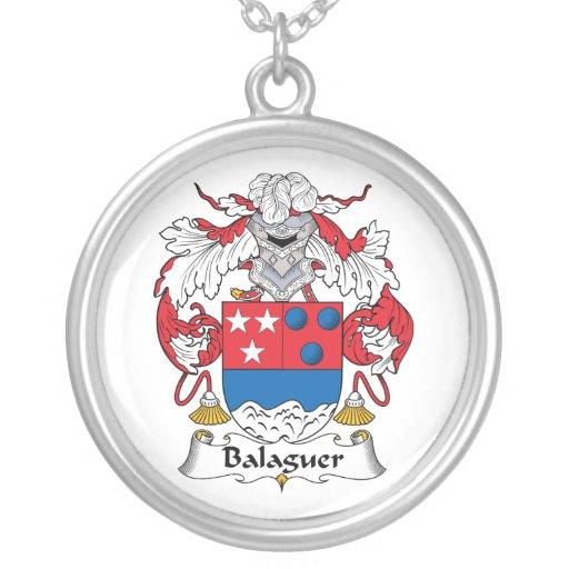 Escudo de la familia de Balaguer Colgantes