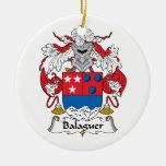Escudo de la familia de Balaguer Ornamentos De Reyes Magos