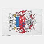Escudo de la familia de Balaguer Toallas De Mano