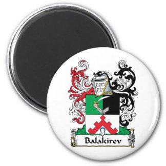 Escudo de la familia de Balakirev Imán Redondo 5 Cm