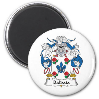 Escudo de la familia de Baldaia Imán Redondo 5 Cm