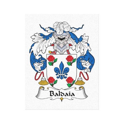 Escudo de la familia de Baldaia Impresion En Lona