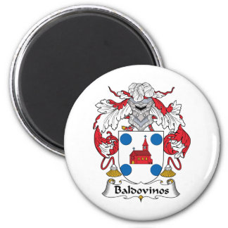 Escudo de la familia de Baldovinos Imán Para Frigorífico