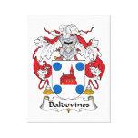 Escudo de la familia de Baldovinos Impresiones En Lona