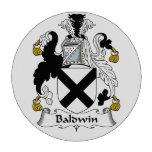 Escudo de la familia de Baldwin Juego De Fichas De Póquer