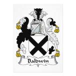 Escudo de la familia de Baldwin Anuncios Personalizados
