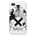Escudo de la familia de Baldwin iPhone 4/4S Funda