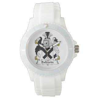 Escudo de la familia de Baldwin Relojes