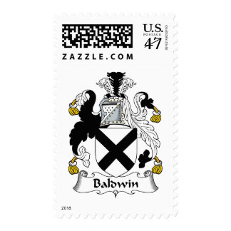Escudo de la familia de Baldwin Sellos Postales