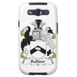 Escudo de la familia de Balfour Galaxy SIII Funda
