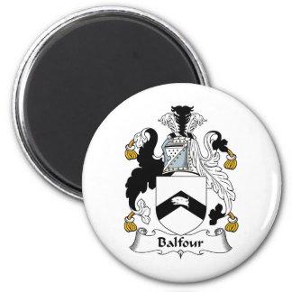 Escudo de la familia de Balfour Imán Redondo 5 Cm