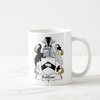 Escudo de la familia de Balfour Taza Clásica