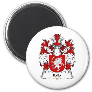 Escudo de la familia de Balla Imán Redondo 5 Cm