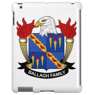Escudo de la familia de Ballagh Funda Para iPad