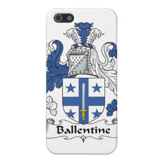 Escudo de la familia de Ballentine iPhone 5 Cárcasas