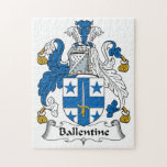 Escudo de la familia de Ballentine Puzzle Con Fotos