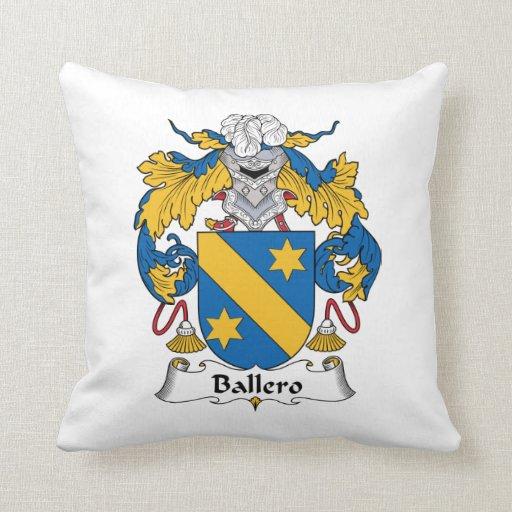 Escudo de la familia de Ballero Almohada