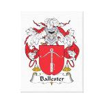 Escudo de la familia de Ballester Impresión En Lona Estirada