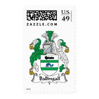 Escudo de la familia de Ballingall Sellos