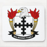Escudo de la familia de Balmanno Tapete De Ratones