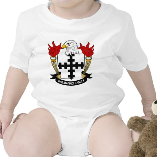 Escudo de la familia de Balmanno Trajes De Bebé