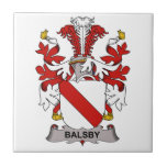 Escudo de la familia de Balsby Tejas