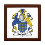 Escudo de la familia de Baltazar Caja De Recuerdo