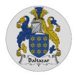 Escudo de la familia de Baltazar Juego De Fichas De Póquer