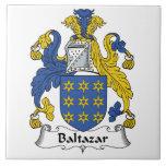 Escudo de la familia de Baltazar Tejas Cerámicas