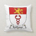 Escudo de la familia de Balthasar Almohadas