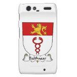 Escudo de la familia de Balthasar Motorola Droid RAZR Fundas