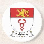 Escudo de la familia de Balthasar Posavasos Diseño