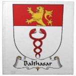 Escudo de la familia de Balthasar Servilleta De Papel