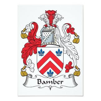 Escudo de la familia de Bamber Anuncio