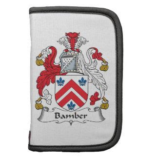Escudo de la familia de Bamber Organizador