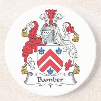 Escudo de la familia de Bamber Posavasos Manualidades