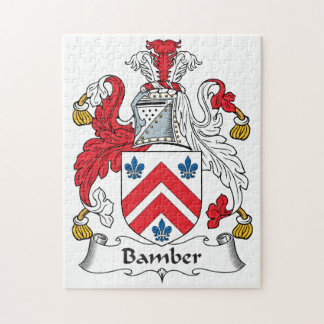 Escudo de la familia de Bamber Puzzles Con Fotos