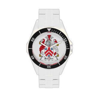 Escudo de la familia de Bamber Reloj