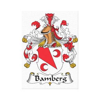 Escudo de la familia de Bamberg Impresiones De Lienzo