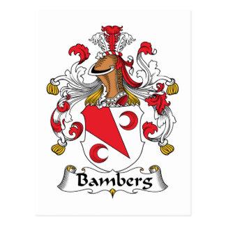 Escudo de la familia de Bamberg Postal