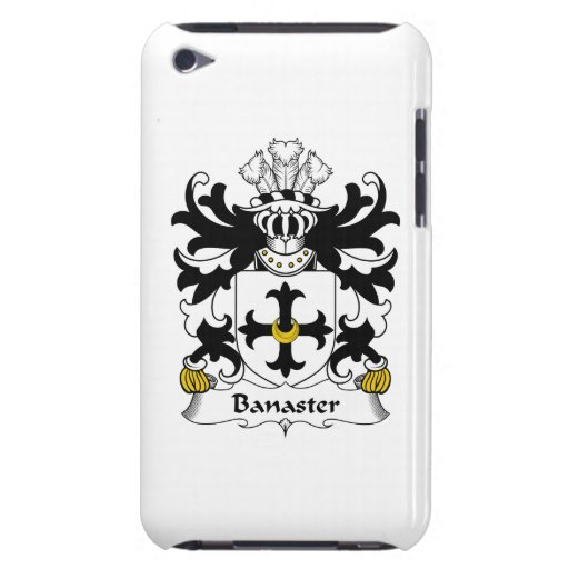 Escudo de la familia de Banaster Case-Mate iPod Touch Protectores