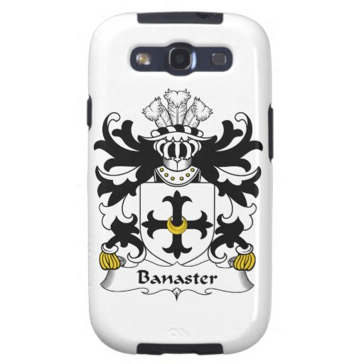 Escudo de la familia de Banaster Galaxy SIII Coberturas