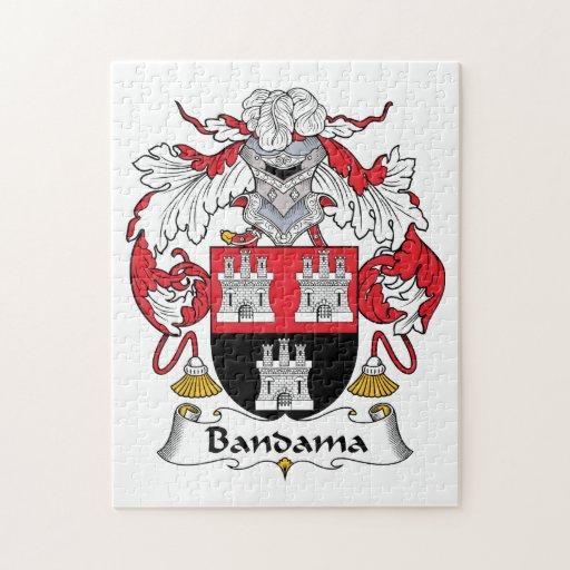 Escudo de la familia de Bandama Rompecabeza Con Fotos
