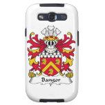 Escudo de la familia de Bangor Samsung Galaxy S3 Cárcasas