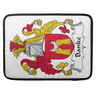 Escudo de la familia de Banke Funda Para Macbook Pro